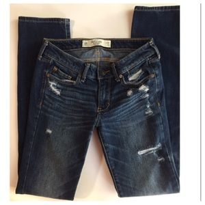 Abercrombie & Fitch Straight Leg Jeans. Size 24